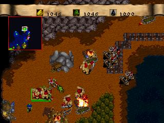 Tasvideos Movies 2430 Psx Warcraft Ii The Dark Saga Usa Orc