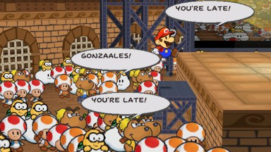 TASVideos movies: [2562] GC Paper Mario: The Thousand-Year ...