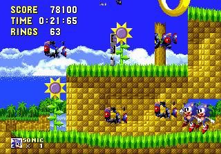 SegaCD Sonic The Hedgehog Megamix US 40b In 135291 By Evil 3D Kaan55 Nitsuja WST